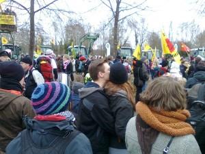 Start mit einem Demo-Auftakt im Zentrum von Dannenberg