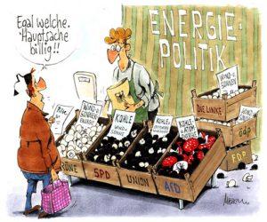 Energiepolitische Argumente - Hauptsache billig!!